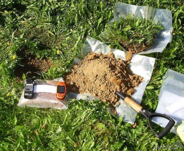 обследование почвы